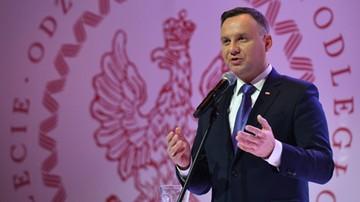 2018-01-13 Prezydent pozdrowił uczestników Polskiej Nocy w NBA