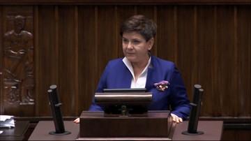 08-12-2017 09:17 Premier w Sejmie: pozostanę w rządzie, by razem z PiS budować dobrą zmianę