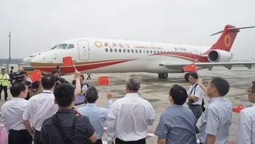 28-06-2016 13:07 Pierwszy chiński pasażerski odrzutowiec rozpoczął komercyjne loty
