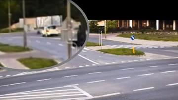 6-latek na rowerku wyjechał wprost przed samochód. Był bez opieki, bo rodzice byli pijani