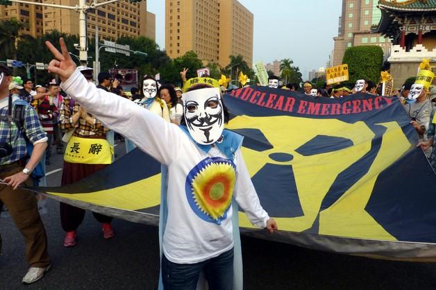 Tajwan: 45 tys. ludzi uczestniczyło w antynuklearnych protestach