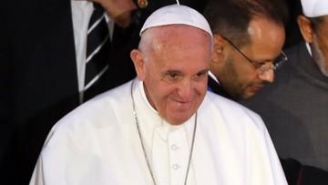 28-04-2017 19:09 Papież apeluje do przywódców religijnych o sprzeciw wobec przemocy