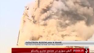 Katastrofa budowlana w Iranie - nie żyje co najmniej 30 osób, jest wielu rannych