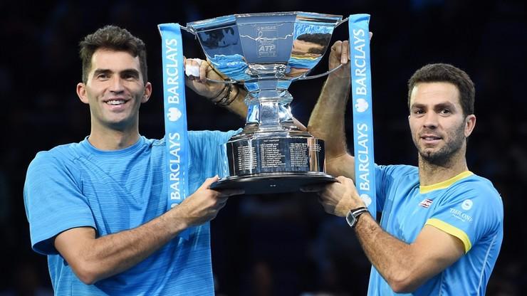 ATP World Tour Finals: zwycięstwo Rojera i Tecau w deblu
