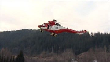2016-10-27 Turyści utknęli w Tatrach. Nocne akcje ratowników TOPR