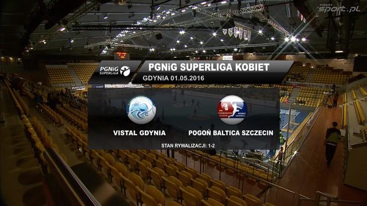 Vistal Gdynia - Pogoń Baltica Szczecin 24:20. Skrót meczu