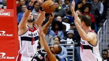 2016-11-27 NBA: Wizards minimalnie słabsi od Spurs! Dycha Gortata