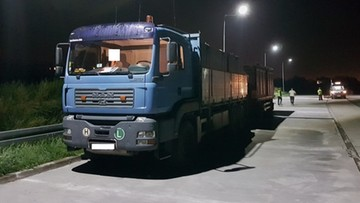 02-08-2017 16:18 Ciężarówka przeładowana o ponad 15 ton. Z zepsutymi hamulcami