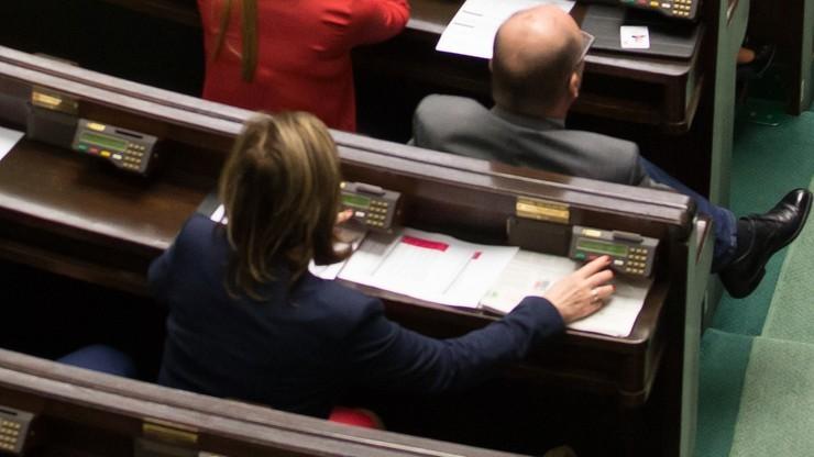 Wniosek o uchylenie immunitetu byłej posłance Kukiz'15. Głosowała za swojego partyjnego kolegę