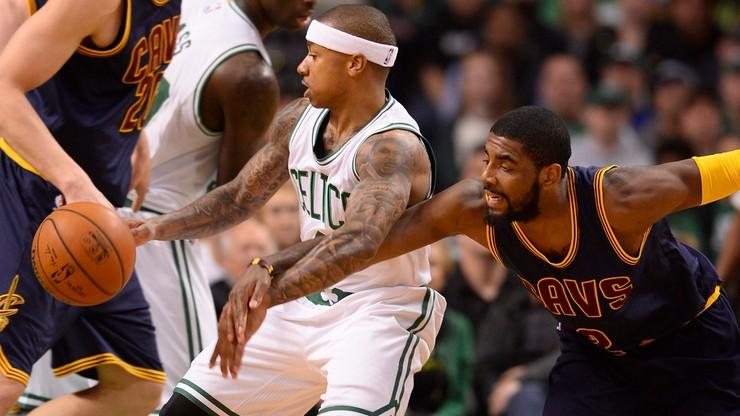 2017-08-23 Irving w Bostonie, Thomas w Cleveland: bomba sezonu!