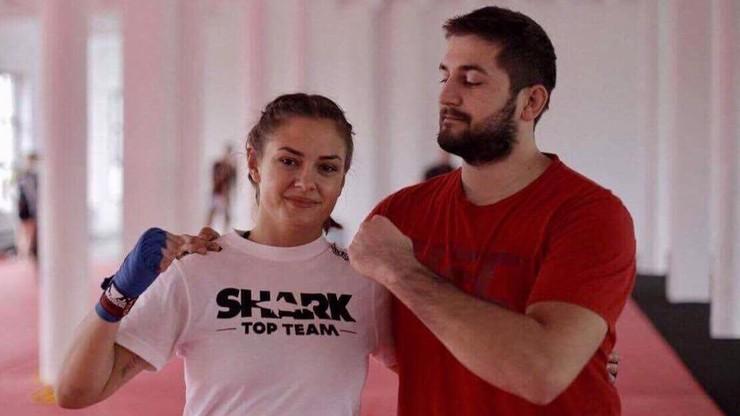 Owczarz zawodniczką Shark Top Team