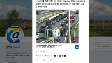 11-07-2017 11:42 Holandia: pijany Polak wjechał w rodzinę jadącą na wakacje