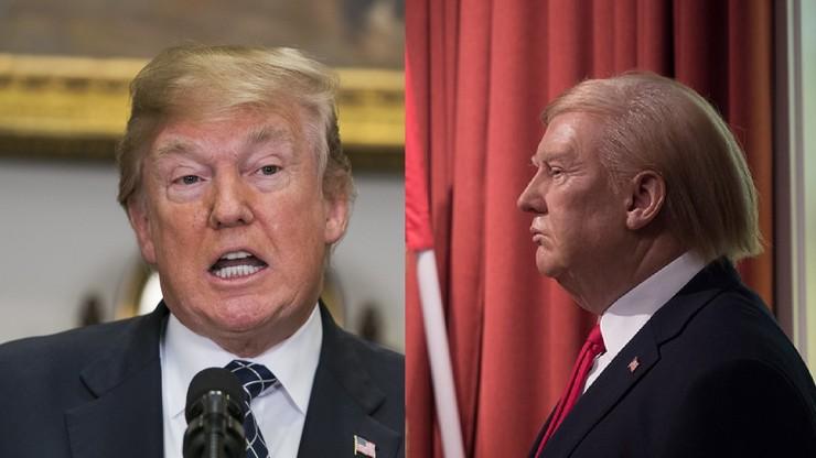 """Trump odwołał wizytę w Londynie. Ambasadę USA odwiedziła jego """"wierna kopia"""""""