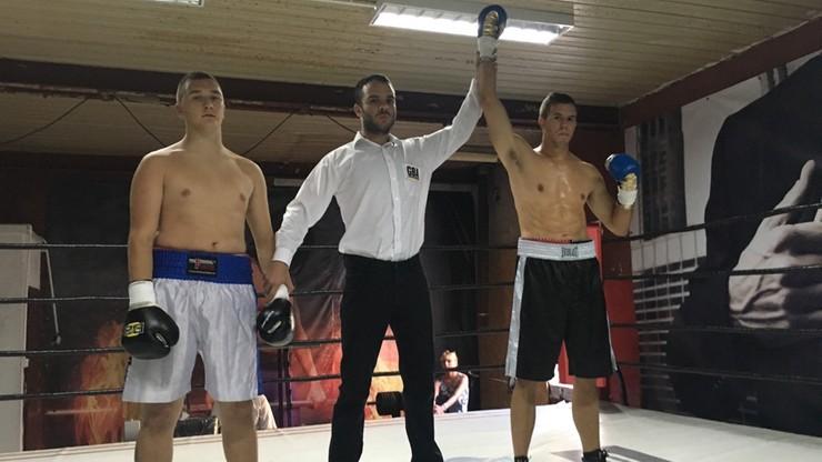 Turkowski nokautuje już w pierwszej rundzie w zawodowym debiucie