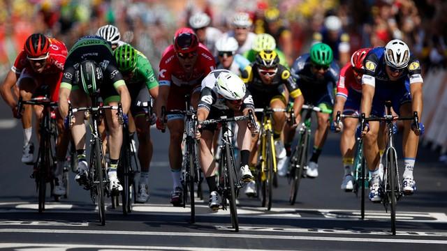 Tour de France: trzecie zwycięstwo Cavendisha