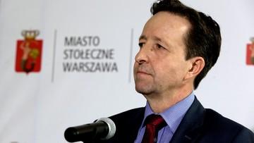 """19-10-2016 16:26 """"Próba robienia polityki na ludzkiej krzywdzie"""". Warszawski ratusz o postulacie PiS dot. zdymisjonowaniu Pahla"""