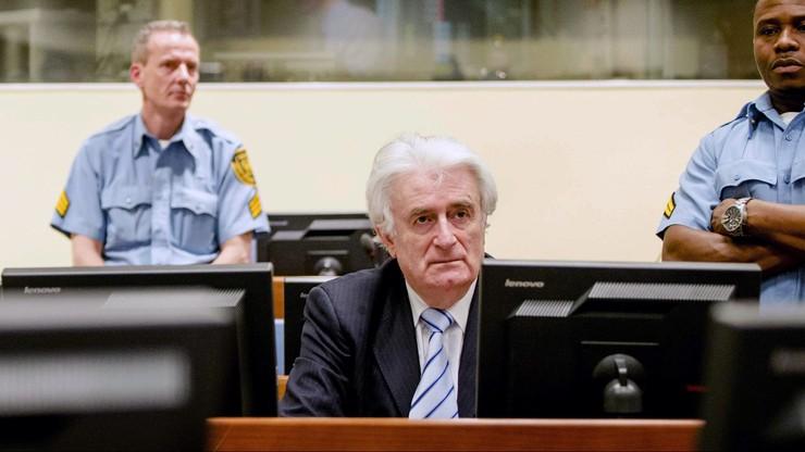 Trybunał ONZ skazał Radovana Karadżicia na 40 lat więzienia za ludobójstwo w Srebrenicy