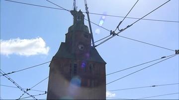 Rozbierają wieżę katedry w Gorzowie