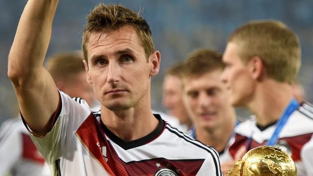 Miroslav Klose zakończył piłkarską karierę i będzie trenerem