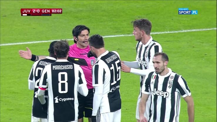 VAR uratował Szczęsnego. Kontrowersja w meczu Juventusu