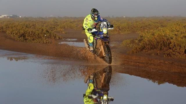 Rajd Dakar - życie na biwaku