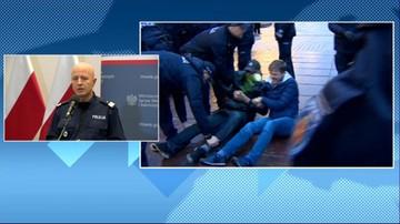 KSP: będą wnioski o ukaranie osób, które próbowały zablokować miesięcznicę