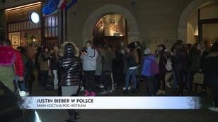 Bieber w Krakowie - fanki koczowały pod hotelem