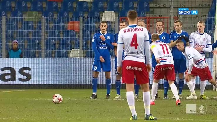 Podbeskidzie Bielsko-Biała - Stal Mielec 2:3. Skrót meczu