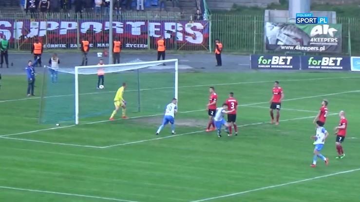 2017-05-15 Stomil Olsztyn - Górnik Zabrze 2:4. Skrót meczu