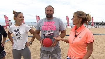 2017-07-18 Czy w piłce ręcznej plażowej można się zakochać? Zapowiedź kolejnego odcinka Po zdrowie (WIDEO)