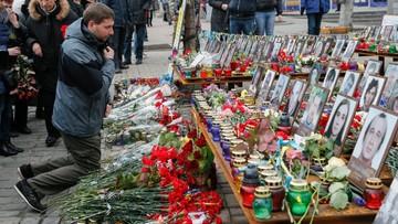 """20-02-2016 17:39 Druga rocznica """"krwawego czwartku"""" na Majdanie. Tego dnia zginęło prawie 80 osób"""