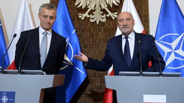 Macierewicz: cztery bataliony NATO w Polsce i krajach bałtyckich