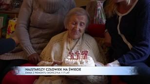 Najstarszy człowiek na świecie - Emma z Piemontu skończyła 117 lat
