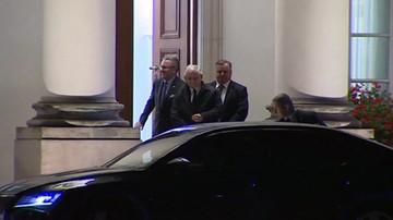 Zakończyło się spotkanie prezydenta z Jarosławem Kaczyńskim