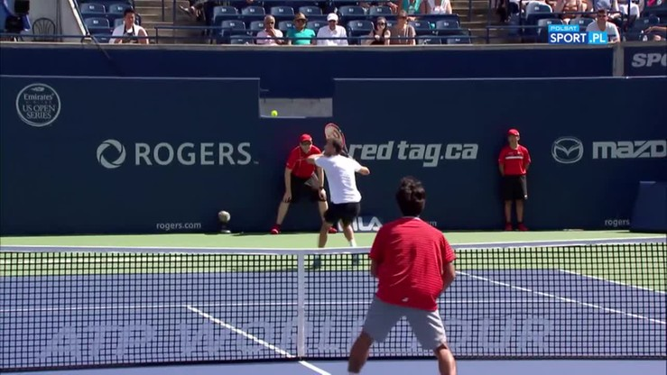 ATP Toronto: Fenomenalny lob Grigora Dimitrowa!