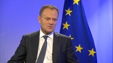 09-12-2015 11:45 Tusk zaniepokojony wydarzeniami w Polsce, ale nie chce, żeby debatowano o nich w Brukseli