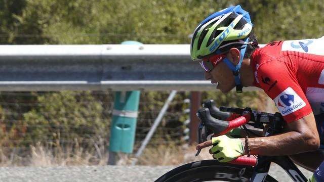 Vuelta a Espana: Chaves wygrał etap i odzyskał koszulkę lidera