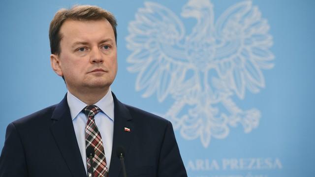 Błaszczak: przywrócenie kontroli na granicy polsko-niemieckiej nierealne