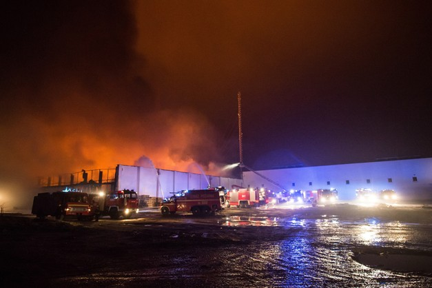 Opanowano pożar w Zelowie