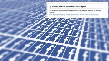 """31-07-2017 09:17 Ponad 300 prawicowych stron zablokowanych na Facebooku. Weekendowa akcja banowania """"treści rasistowskich"""". Protesty"""