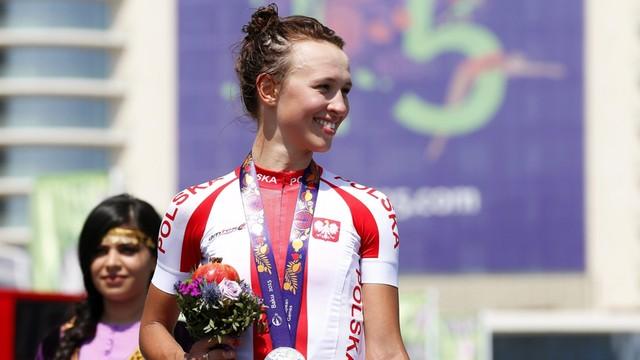 Igrzyska Europejskie - srebrny medal dla Polki w kolarstwie