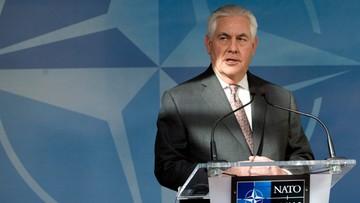 06-04-2017 06:18 Tillerson: Rosjanie powinni przemyśleć swe poparcie dla Asada