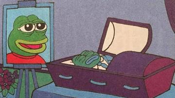 """""""Smutna żaba"""" nie żyje. Jej twórca nie chciał, żeby była wiązana z polityką"""