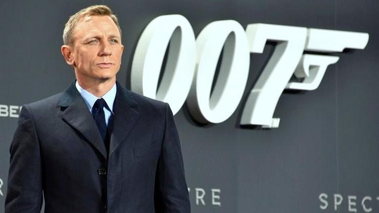 Daniel Craig po raz piąty wcieli się w rolę Jamesa Bonda