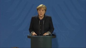 20-12-2016 11:17 Merkel o zamachowcu: ten ktoś ubiegał się w Niemczech o azyl