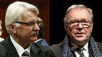 25-01-2016 10:00 Waszczykowski chce dialogu z Rosją. O pomoc poprosi Zanussiego