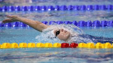 2015-12-03 ME w pływaniu: Srebro Tchórz na 100 m styl grzbietowym