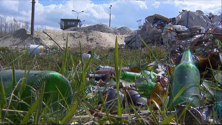 Upadła firma utylizująca odpady w Tarnowie. Zostawiła 3 tys. ton śmieci