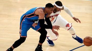 2016-12-05 NBA: Imponująca seria Westbrooka