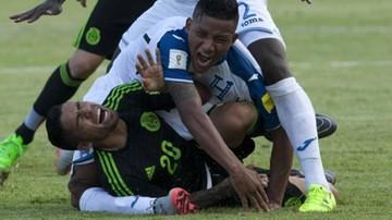 2015-11-18 Makabryczna kontuzja reprezentanta Hondurasu!